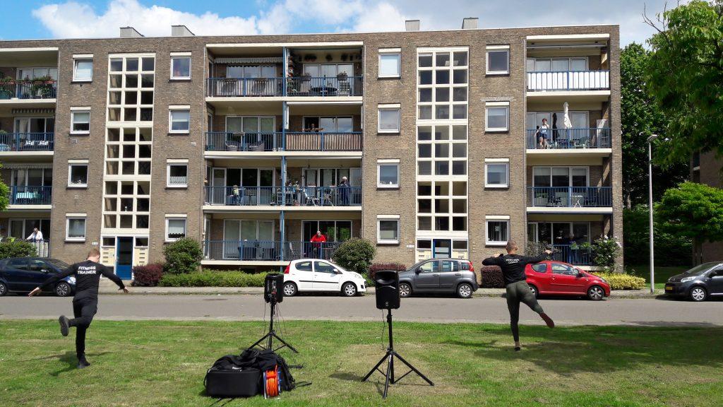 Heel Heerlen Beweegt Balkon Work-out 2